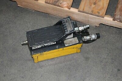 Enerpac Pneumatic Hydraulic Pump Model D Foot Control