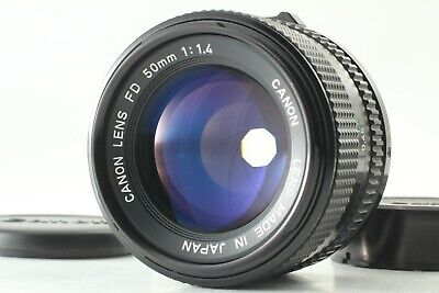 {Excellent+++++}Canon FD 50mm F/1.4 Lens NFD From japan