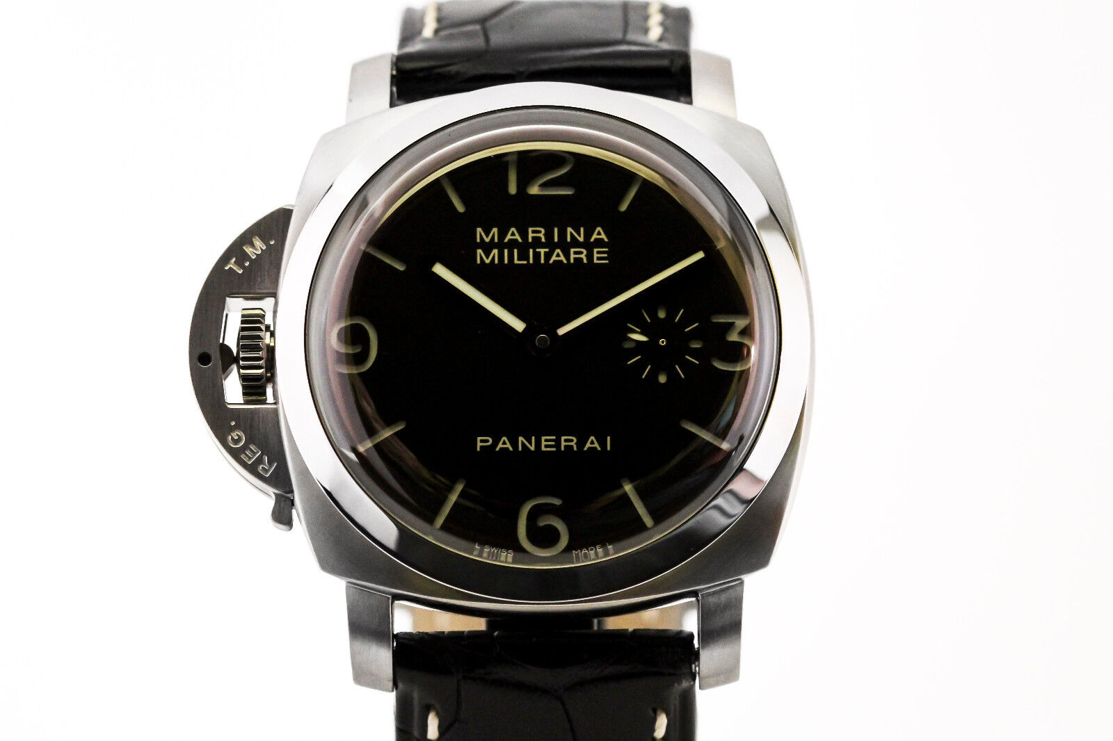 Panerai 1950 Marina Militare Destro PAM 217 47mm Lefty Special Edition Watch - watch picture 1