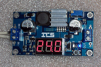 1 Pc Usa Xl6009 Dc 4.5-32v To 5-52v Boost Step-up Power Moduleled Voltmeter