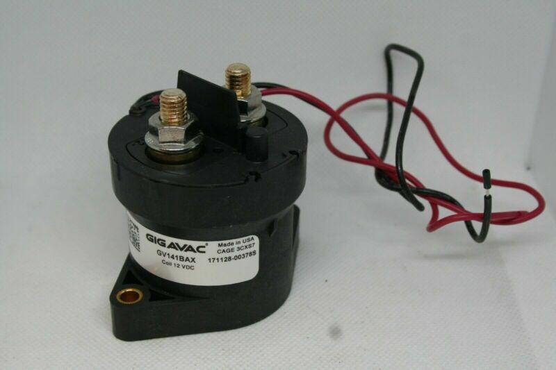 Gigavac GV 121BAX Dual Coil Contactor, 12 VDC, 171128-00378S