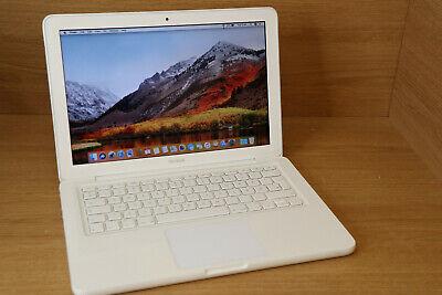 """Apple MacBook A1342 13.3""""  L 2009 2.26GHZ 2GB NVIDIA 9400M 250GB OSX 10.13.4 #8"""