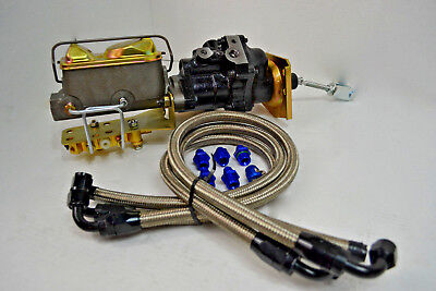 Hydro boost Brake Assist System w/ Ford Master Cylinder HOT ROD MUSCLE CAR Brake Master Cylinder Car