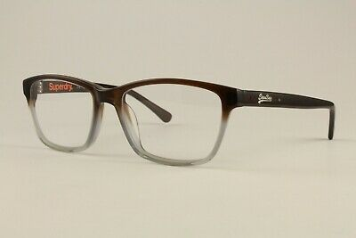 Authentic Superdry Glasses leigh C:105 Brown Gray 52mm Frames Eyeglasses RX