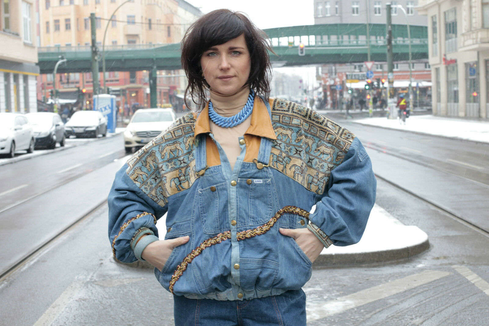 damen jeans jacke jacket 80er true vintage 80 s ddr prenzlauerberg berlin mode eur 202 02. Black Bedroom Furniture Sets. Home Design Ideas