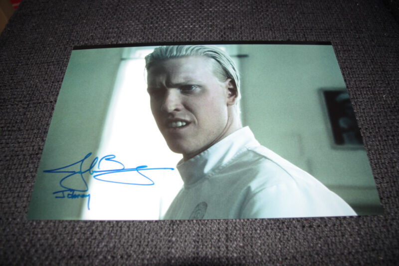 """JAKE BUSEY signed 8x12 inch autographed """"THE FRIGHTENERS"""" Photo InPerson LOOK"""