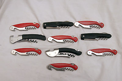 (Lot Of 10 OXO Assorted TSA Confiscated Corkscrews - Bottle Openers Lot 169)