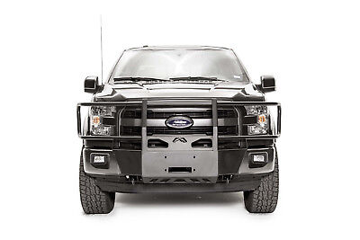 Fab Fours FF15-N3270-1 (IN STOCK) Full Guard Winch Mount 15-20 Ford F-150
