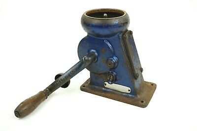 Antique Westfalia Cream Separator Tabletop Cast Iron Dairy Machine Hand Crank