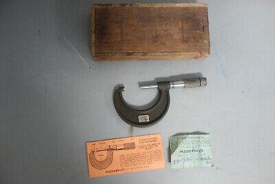 Lufkin Rule 1912 1-2 Outside Micrometer