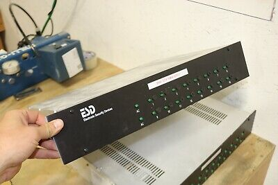 Electronic Security Devices ESD RM-1616/12VDC