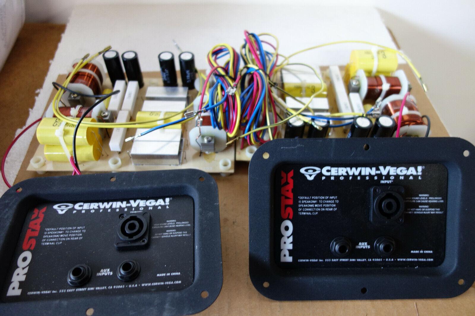 Pair 2 Pcs Cerwin Vega PX-153 Pro Stax 3 Way Crossover