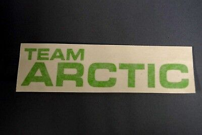 "OEM Lime Green Team Arctic Cat Decal Sticker 6"" 5293-770"