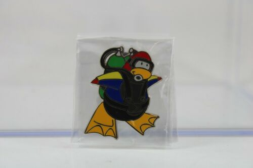 Disney Parks Pin Club Penguin Collection Red SCUBA