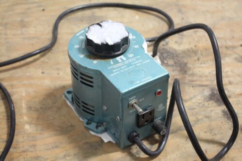 STACO Variable Power Transformer 3PN1010  WORKING