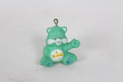 Vintage Green Care Bear Wish Figure Necklace Pendant AGC Shooting Star Old (Green Care Bear)