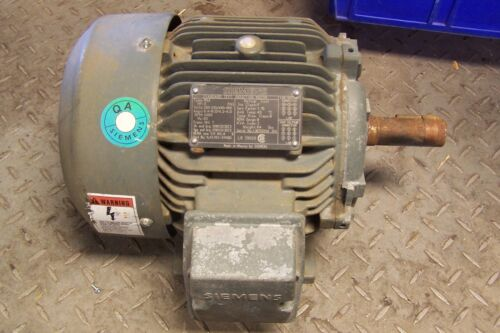 👀NEW SIEMENS RGZ 3 HP ELECTRIC MOTOR 230/460V 182T FR 3485 RPM 3Ø 1LA3182-2YK60