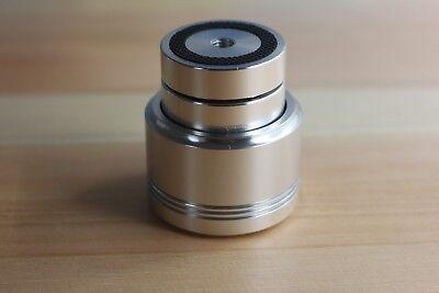 Black Full Aluminum Audio Amp Speaker Feet Screw Thread Spikes Pc Machine Mats Pads 4pcs 39 *17mm Silver Accessories & Parts Electrical Plug