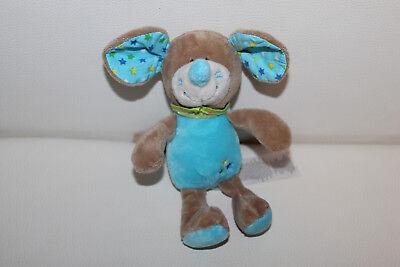 Ergee Kik Okay Maus blau Stofftier Kuscheltier Schmusetier 21cm TOP RAR