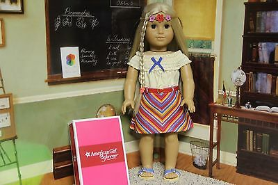"American Girl Julie ""Summer Skirt Set"" - COMPLETE - NIB"