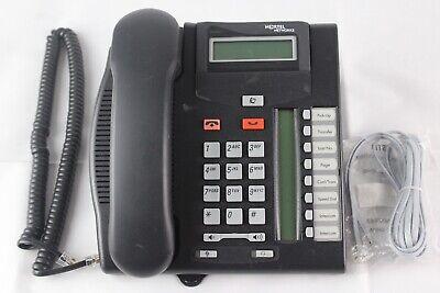 Lot Of 10 Nortel T7208 Charcoal Digital Display Business Office Phones Nt8b26