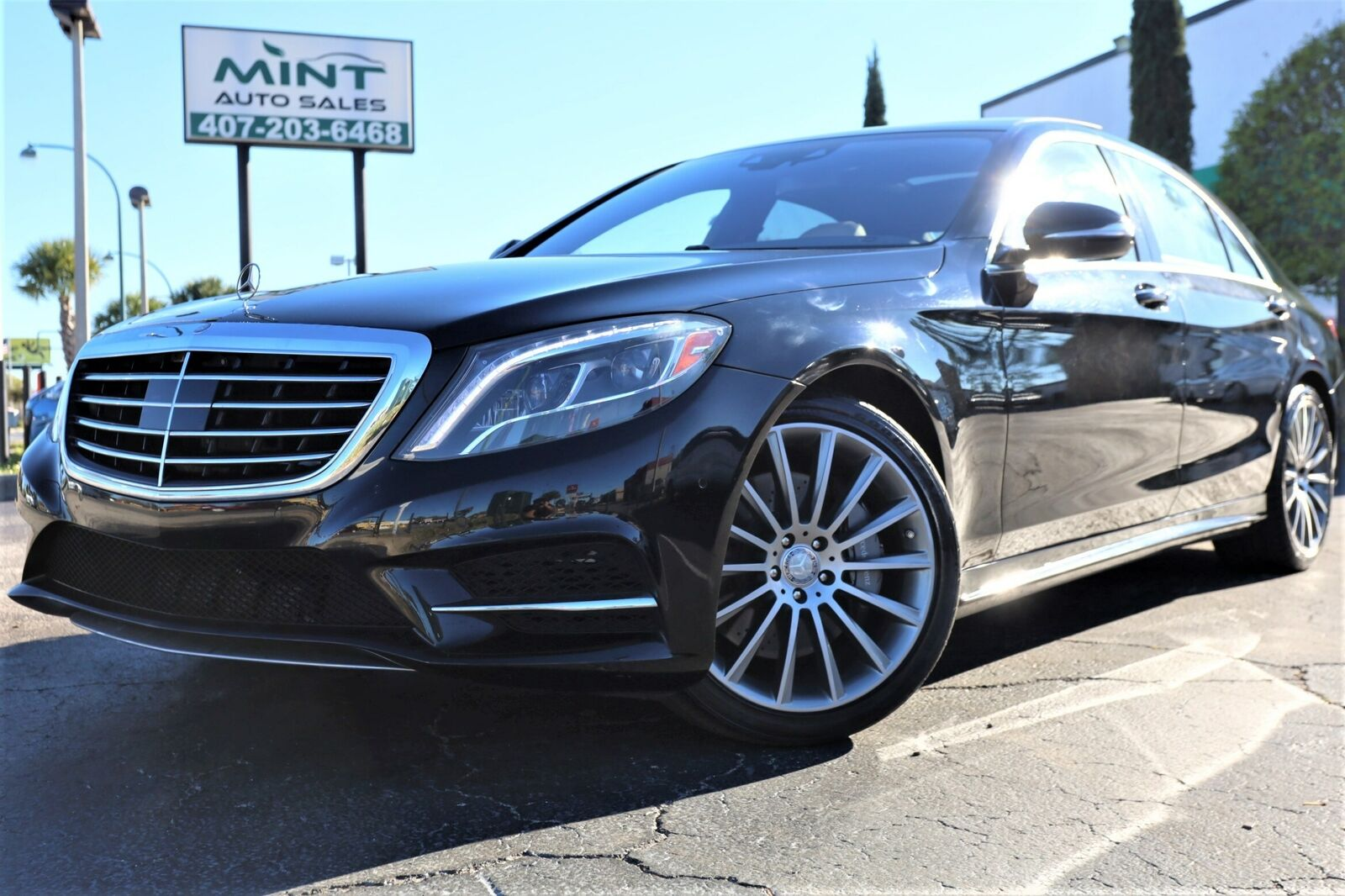 2014 Mercedes-Benz S-Class, BLACK with 82369 Miles available now!