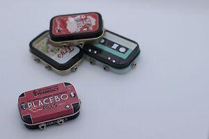 Mini Retro Pill Box Passive Audio Mixer - 2 Stereo Channels - 3.5mm Jack, iPod