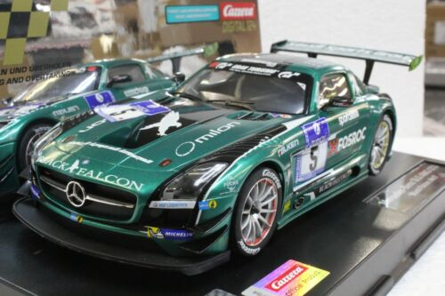 Carrera Digital 124 23876 Mercedes SLS AMG GT3 Black Falcon, #5 1/24 Slot Car