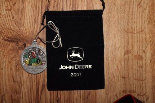 John Deere Christmas Ornament 2001