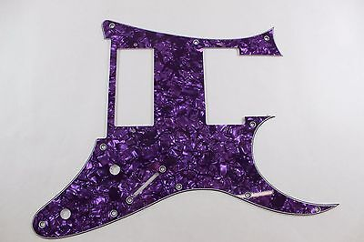Purple Pearl Pearloid Pickguard Fits Ibanez (tm) Universe UV UV777 7 String- HXH for sale  Plainfield