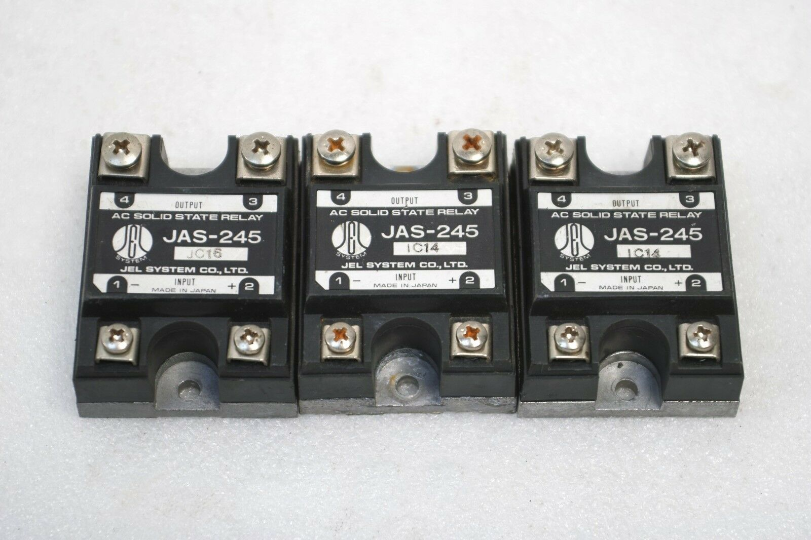 Jel System Ac Solid State Relay Jas 245 Lot Of 3 Free Ship For Item Number 252624911322