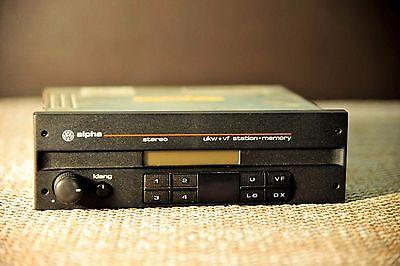 VW Alpha 3 Hitachi car radio. VW golf mk2, Jetta, Passat, Corrado.