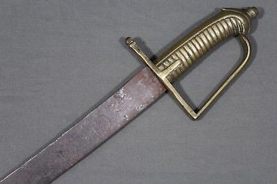 French infantry grenadier sword model 1767 - Louis XVI reign, France