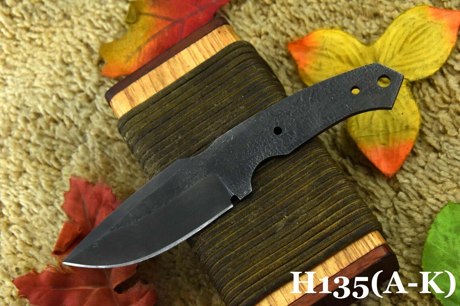 Knife Making Supply Spring Steel 5160 Blank Blade Hunting Knife Handmade D  - $6.99