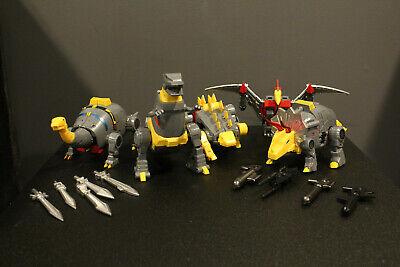 Transformers Mech Fans Toys Dinobot lot MFT Grimlock, Sludge, Slag US SELLER