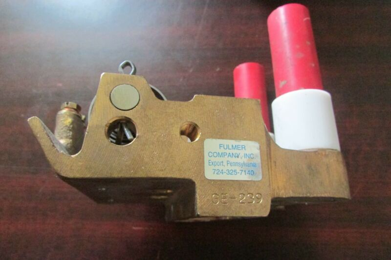 GENERAL ELECTRIC GE FULMER Brush Holder Assembly for Drilling Motor GE 239