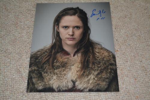 EMILY COX signed autograph 8x10 20x25 cm In Person THE LAST KINGDOM