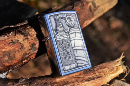 Zippo Lighter - Jack Daniels Bottle Barrel - Old No. 7 - Tennessee Whiskey 28635