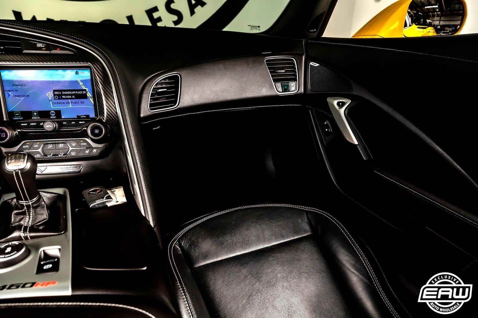 2014 Yellow Chevrolet Corvette Coupe 2LT   C7 Corvette Photo 8