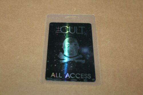 The Cult  - Laminated Backstage Pass - All Acces #2  -  FREE POSTAGE