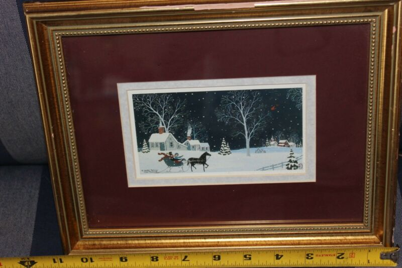 original art by cate mandigo 1996 winter romance