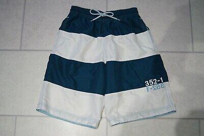 "Mens M&S Jade & White Swim Shorts Size Small Waist 30-32"""