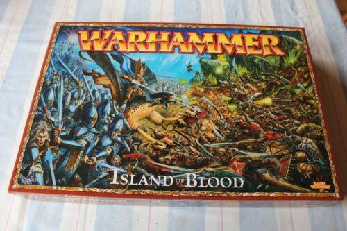 Games Workshop Warhammer Island of Blood NIB New Boxed Game Complete Unused OOP