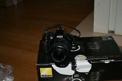 NIKON D3100 FOTOCAMERA REFLEX DIGITALE 14,2 MP + OBIETTIVO NIKON 18-55mm d'occasion  Expédié en Belgium