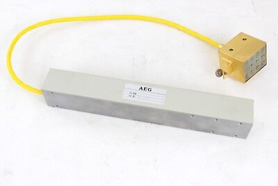 Twt Traveling Wave Tube Aeg Yh 1198 12.7-13.2ghz Not Tested