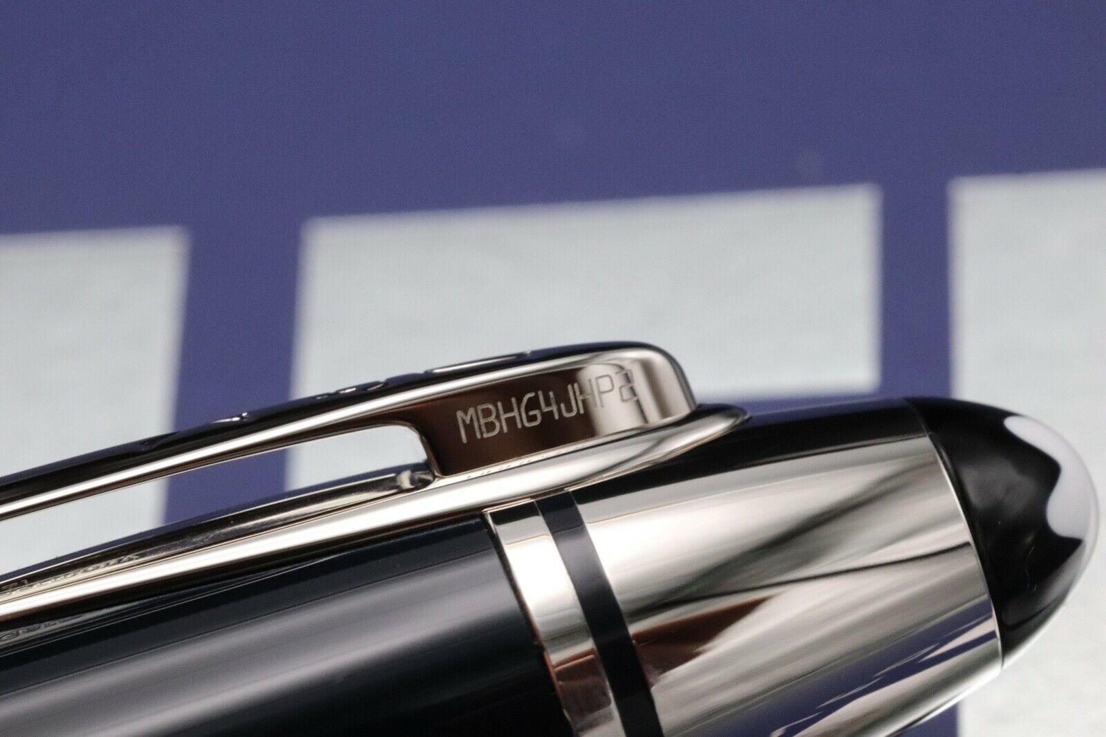 Montblanc Great Characters JFK Blue Special Edition Ballpoint Pen 3