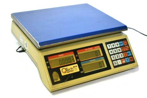 QTech QCS-65 Digital Counting Scale (65 lb Capacity)