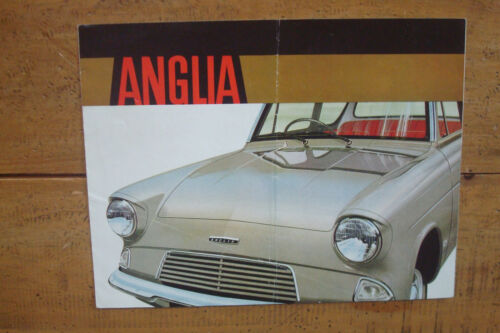 1963 Ford Anglia Brochure.