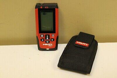 Hilti Pd-i Laser Range Meter Distance Pulse Power 200m Ip65 -1.0mm W Case