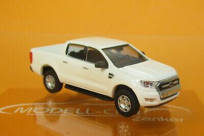 1:87 Busch Ford Ranger Pick-up weiß 52802